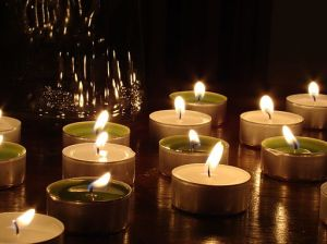 From: http://commons.wikimedia.org/wiki/File:Candles1.JPG