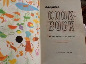 the 1955 Esquire Cookbook
