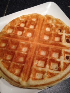 vanilla bean waffles