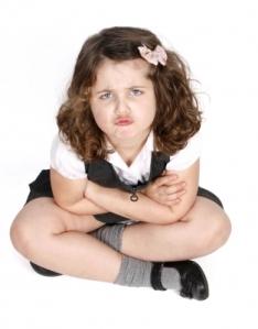 Grumpy Child by Claire Broomfield; freedigitalphotos.net