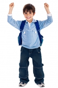 Schoolboy by photostock